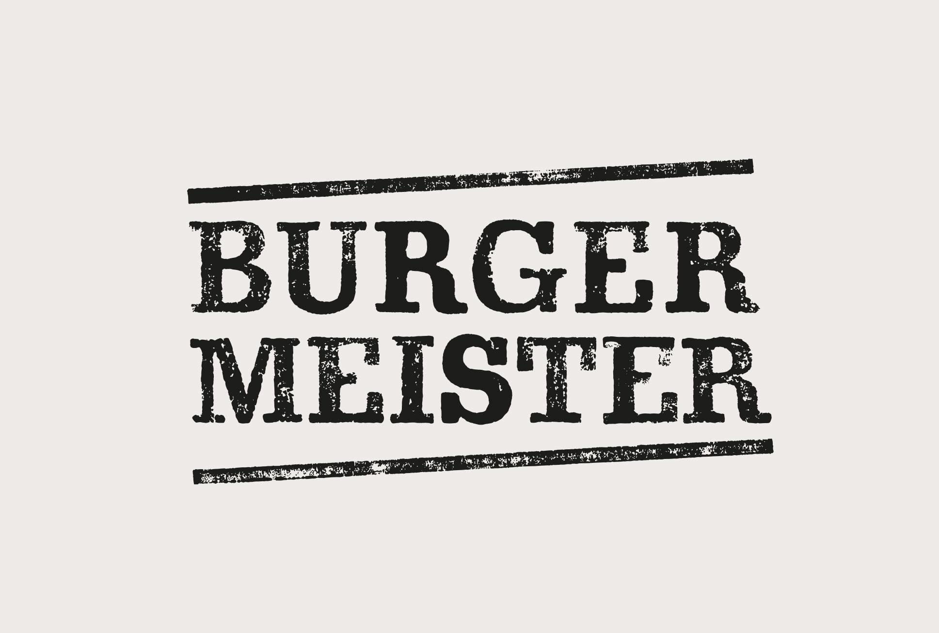 Burgermeister Logodesign