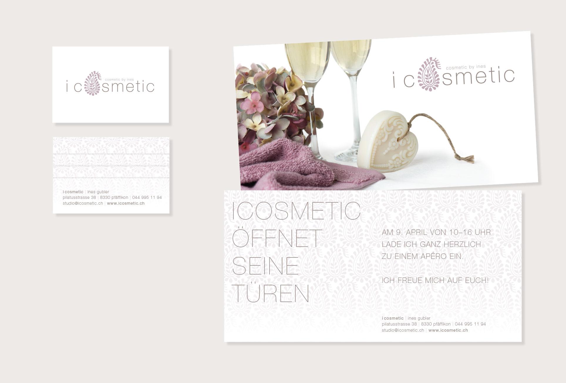 Gestaltung Flyer und Visitenkarten